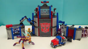 transformers kre o autobot command center playset build