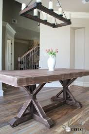 How To Build A Bench Seat For Kitchen Table Best 25 Diy Dining Table Ideas On Pinterest Farmhouse Dining