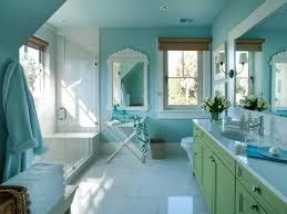 Black And Blue Bathroom Ideas Blue Bathroom Ideas Standing Washbasin The Mirror Black