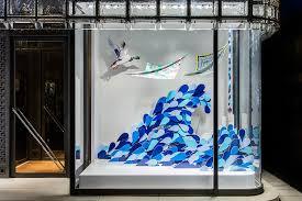 isabelle daë window displays at hermès ginza tokyo
