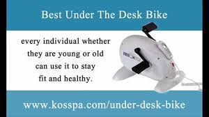 Pedal Machine For Under Desk Under The Desk Bike Exercise While Sitting Youtube