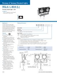 runway end identifier lights reil led approach navigational aids runway end identifier lights