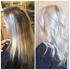 platinum hairstyles with some brown that color makes me want to try blonde again hair and