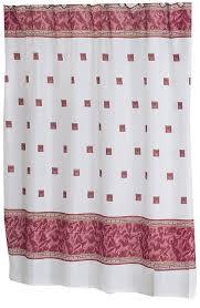 amazon com carnation home fashions windsor fabric shower curtain amazon com carnation home fashions windsor fabric shower curtain ivory home kitchen
