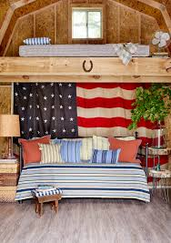 Country Star Decorations Home by Americana Home Decor Antique Flags