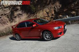 mitsubishi evolution 2014 2014 mitsubishi lancer evolution x mr review video