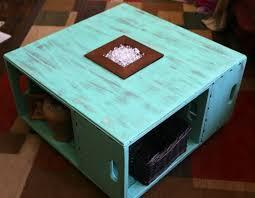 Diy Distressed Wood Table Top by Diy Distressed Wood Crate Coffee Table