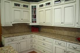 Distressed Kitchen Cabinets Impressing How To Distress Kitchen Cabinets White Distressed On