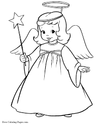 stunning coloring book angels images printable coloring pages