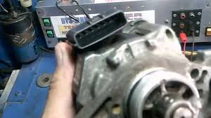 how to test mazda 323 distributor 7 pin youtube