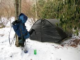 another tarp mod a poor man u0027s hammock hut