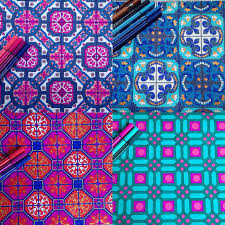 Mandala coloriage antistress