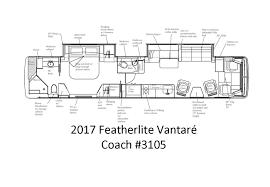 featherlite vantaré prevost coach 3105 available featherlite coaches