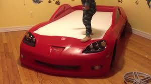 corvett bed adi excited with his corvette bed