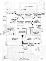 mediterranean style house plan 5 beds 6 50 baths 5176 sq ft plan
