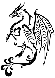 coloring pages tattoos dragon tattoo coloring page free printable coloring pages