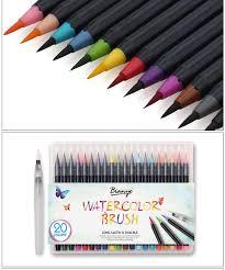 color premium painting soft brush pen set watercolor art markers