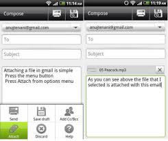 send from android how to send email attachments from android mashtips