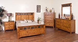 rustic wood bedroom furniture interior design