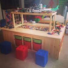 Lego Room Ideas Steve Built The Kids The Most Amazing Lego Table Legofun Kid