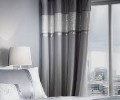 lansfield luxor jacquard 66x90 inch eyelet curtains