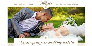 free wedding websites with create your free wedding website list of free wedding