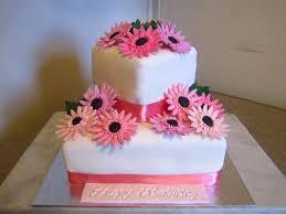 two tier gerbera cake cakecentral com