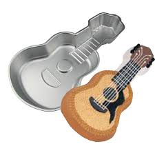 aliexpress com buy diy cake bakeware tools music guitar shape