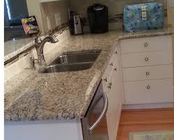 Kitchen Countertop Backsplash Ideas Kitchen Granite Countertops And Undermount Sink With Kitchen
