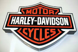 Amazon Com Harley Davidson Sign 16 5 H X 20 5 W Lighted Bar