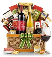 country wine gift baskets country estate wine duo wine basket