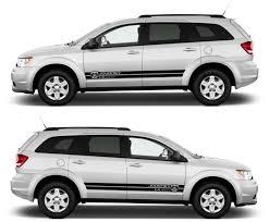 Dodge Journey Black - dodge journey 2 4l dual vvt car stripes kit sticker infinity270
