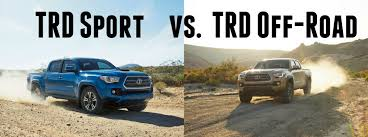 toyota tacoma trim packages what s the difference between the 2016 tacoma trd sport and trd
