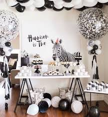 Decorations For Black And White Themed Party
