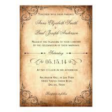 vintage wedding invitations mycustomweddinginvitation