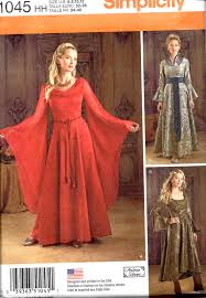 Simplicity Halloween Costumes Simplicity 1045 Game Thrones Fantasy Jerseygirlpatterns