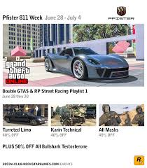 pfister 811 supercar added to gta online today u2013 plus event