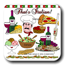 clipart cuisine food clipart food and meals set of food