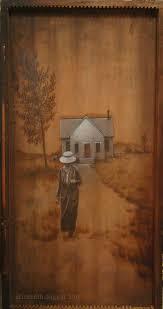 artwork on wood paintings on wood panels on behance