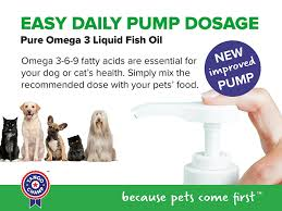 amazon com pure omega 3 for cats and dogs liquid fish oil with