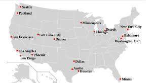 Map Of Washington State Cities by Sanctuary Cities Washington University Political Review Wupr