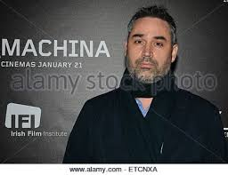ex machina director director alex garland actor domhnall gleeson at a preview