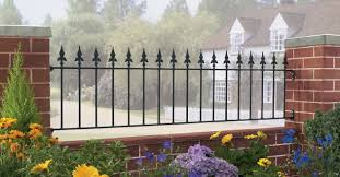 Garden Wall Railings by Decor Nice Pictures Wrought Iron Railing Design Ideas In Black