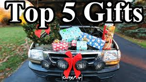 top 5 gift ideas for car guys
