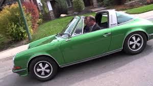 classic porsche models 1973 911 s targa metallic green porsche centre calgary classic