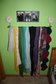 Creative Way To Hang Scarves by 123 Best Scarves U0026 Winter Colors Images On Pinterest Clear