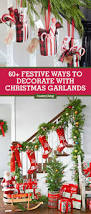 How To Decorate Garland With Ribbon 60 Best Christmas Garland Ideas Decorating With Holiday Garlands