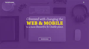 Hues Of Purple Templatemonster Infographic Purple Color In Web Design