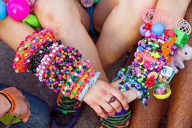 colored bead bracelet images Colorful bead bracelets kandi cuffs jpg