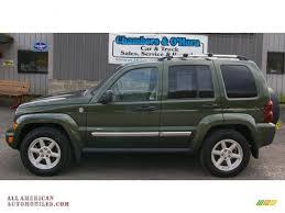dark green jeep 2006 jeep liberty limited 4x4 in jeep green metallic photo 2